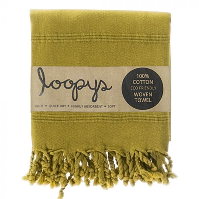 Loopys Guarantees Cheap Designer Turkish Towels Made From 100% Organic Cotton