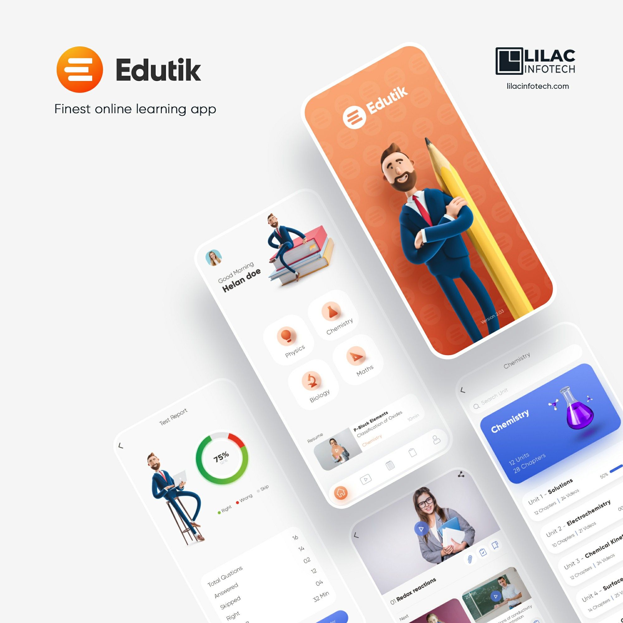 E-Learning app solutions for education Industry