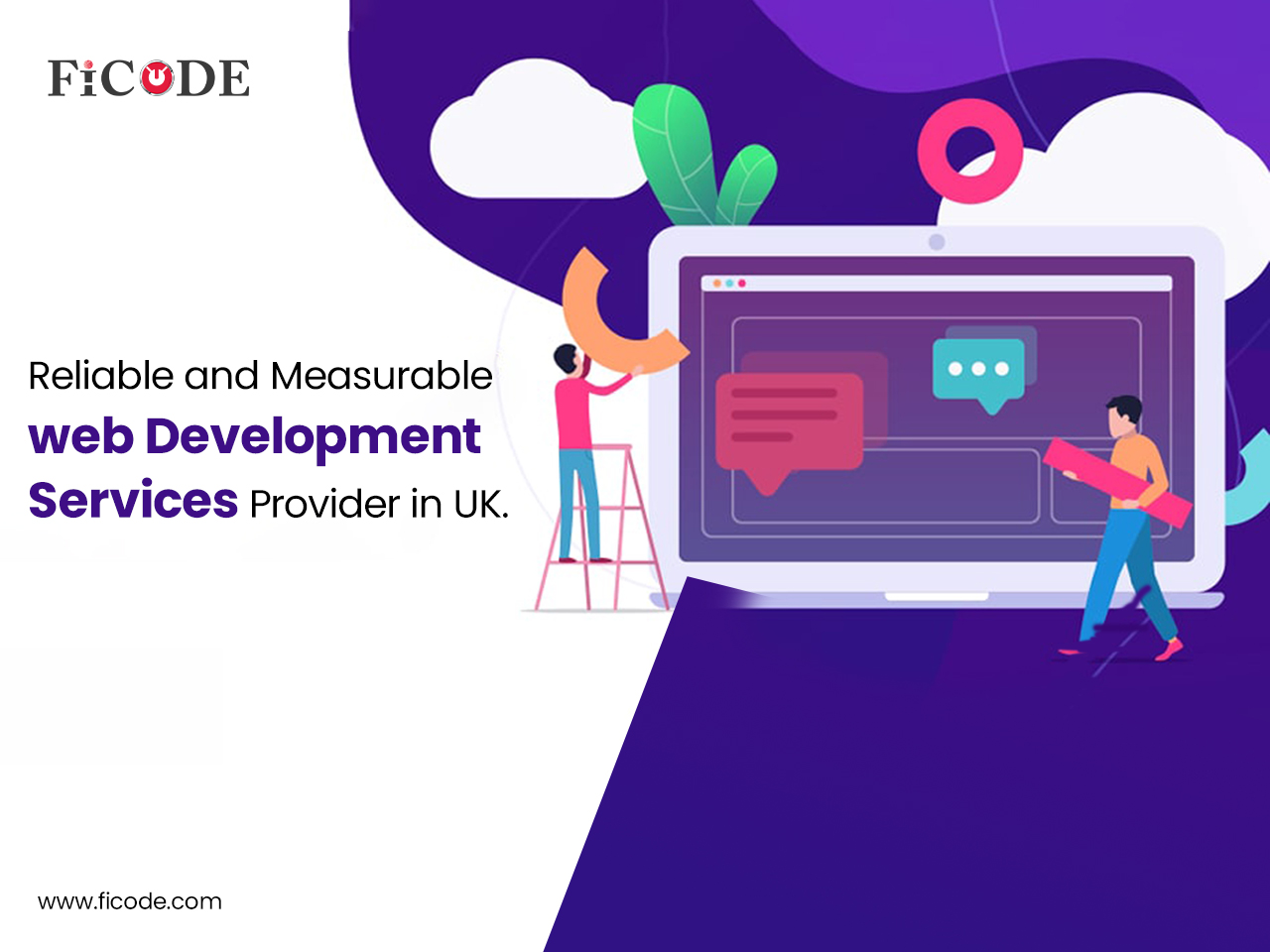 Reliable and measurable web development services provider in UK.