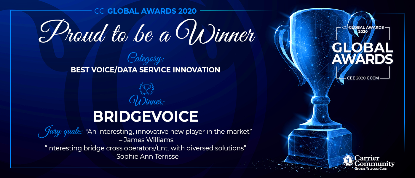 Recognized for the Best Voice/Data Service Innovation
