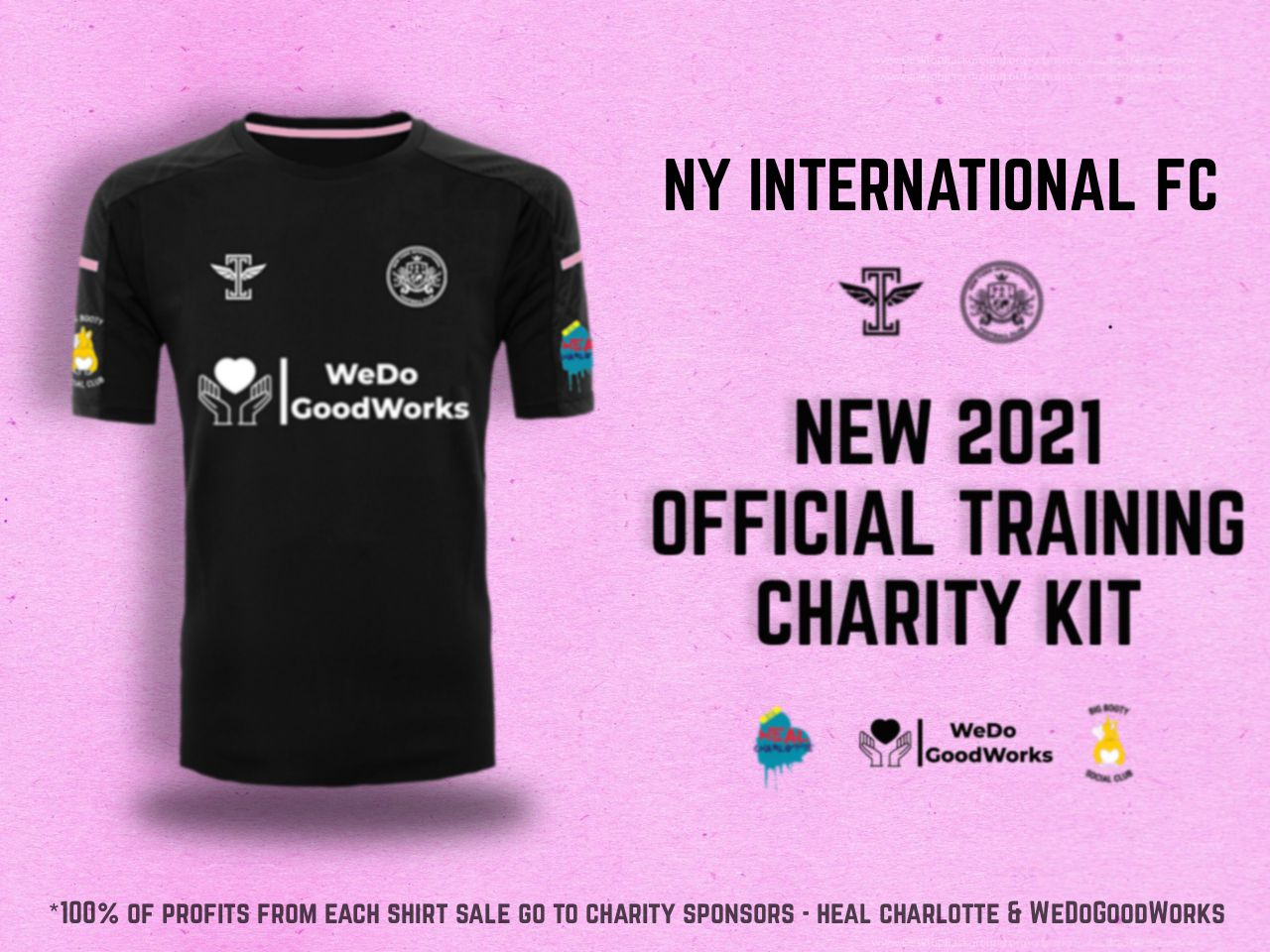 NYIFC Press Release, Charity Release and Training Sponsors Announcement