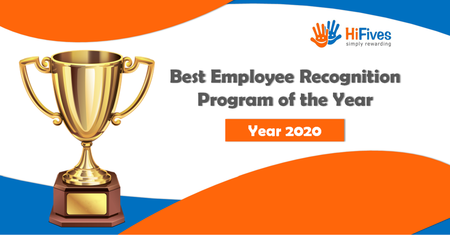 HiFives Announces the Winner of the 2020 Best Employee Recognition Program Award