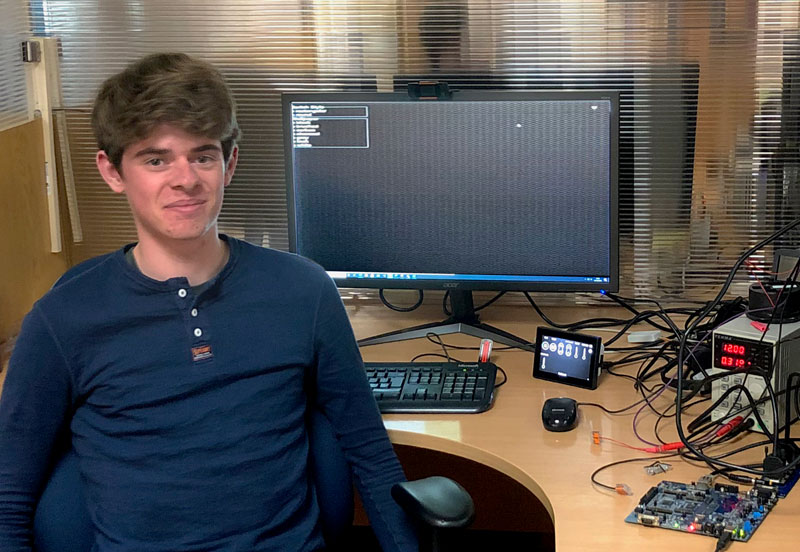 Veethree Technologies Welcomes Intern Into the Software Team