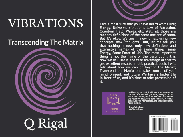 "Readers' Favorite Announces The Review of The Non-Fiction - Self Help book ""Vibrations"" by Q Rigal"