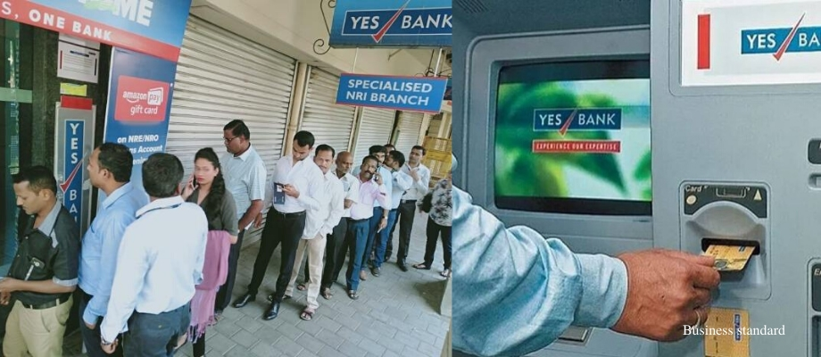YES Bank Depositors unable to withdraw cash from ATM