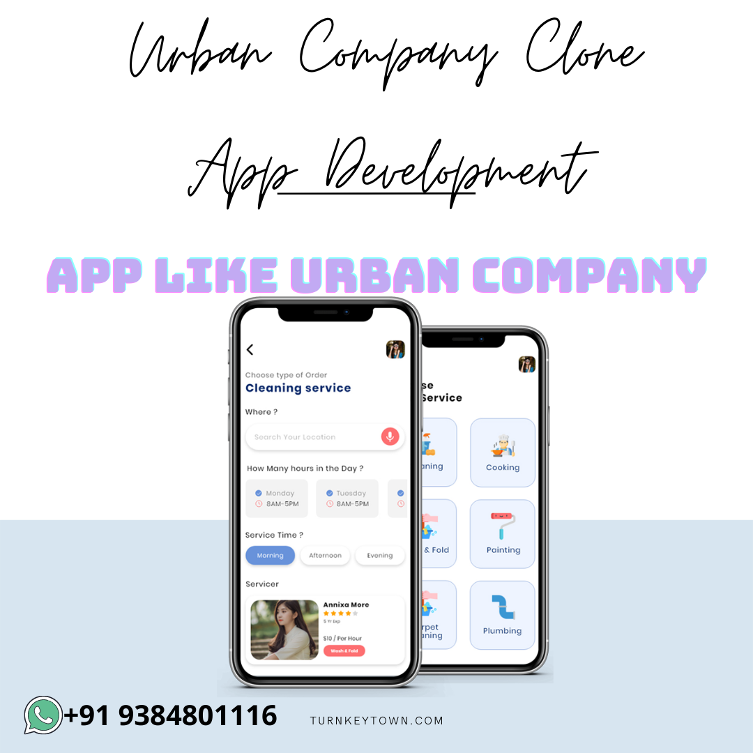 Build any Business with Urban Company Clone App Development