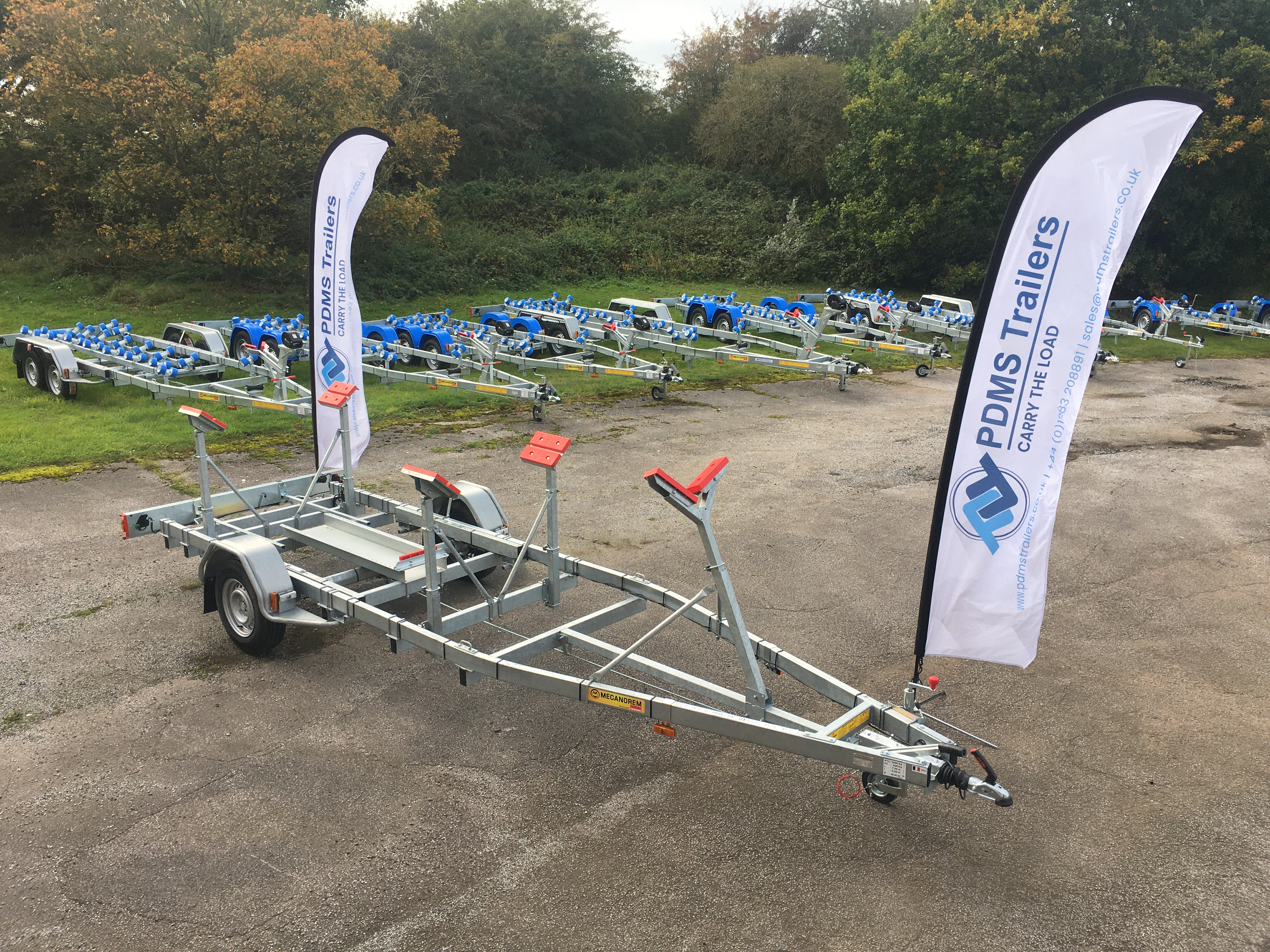 PDMS Trailers Join the RYA 1st Virtual Dingy Show In The UK.