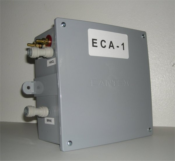 HYPOCHLOROUS ACID CELL HAS SHIPPED AN ECA-1 HYPOCHLOROUS ACID GENERATOR TO TAIWANESE FIRM