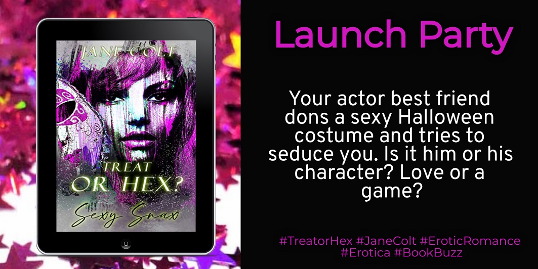 Author Jane Colt Releases New Erotic Romance – Treat or Hex?