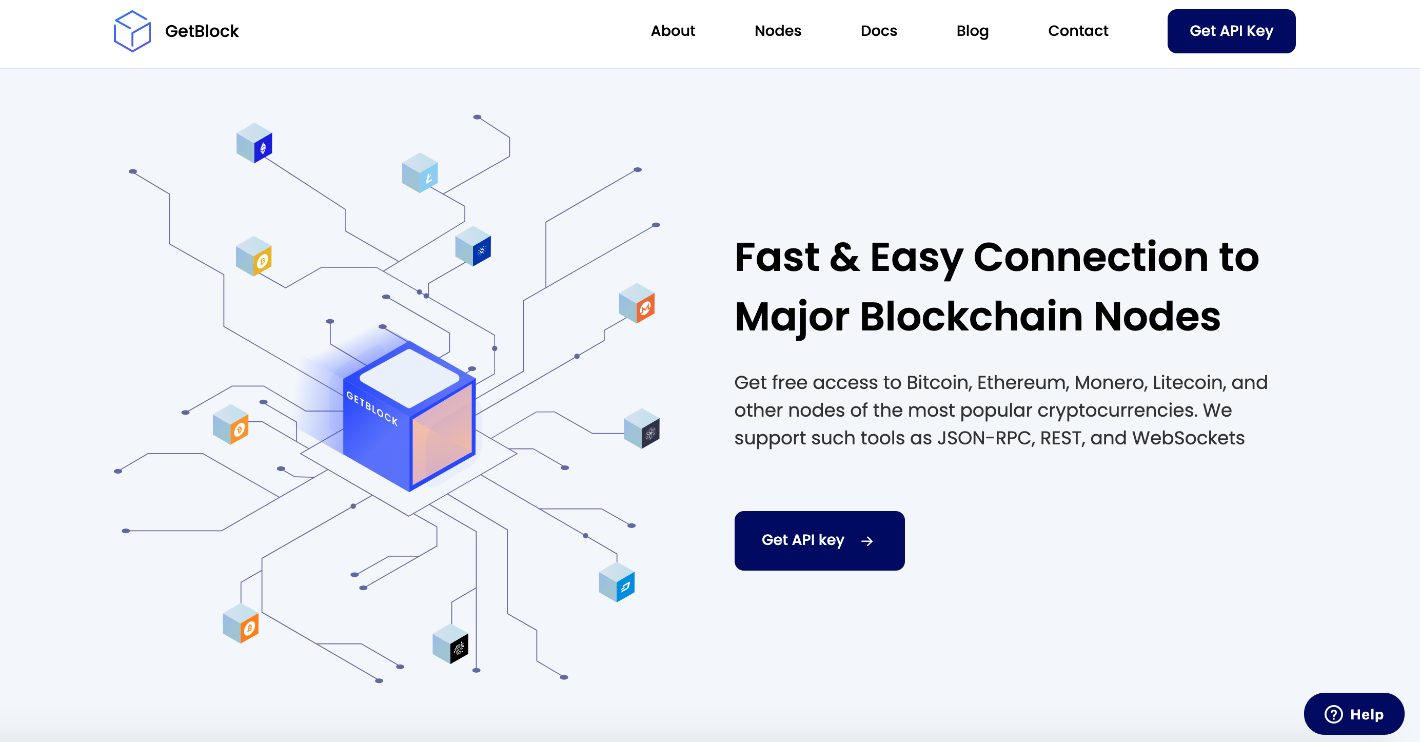 GetBlock Nodes Provider Launches the Updated Version of the Website