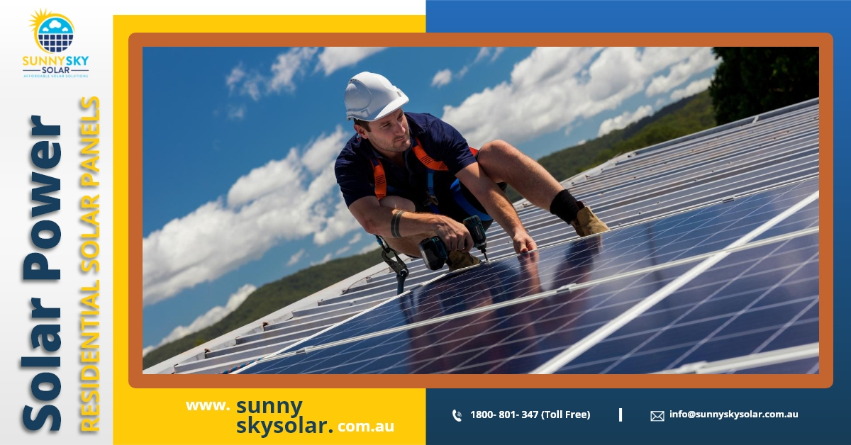 Sunny Sky Solar announced you to launch Solar Power System in Queensland