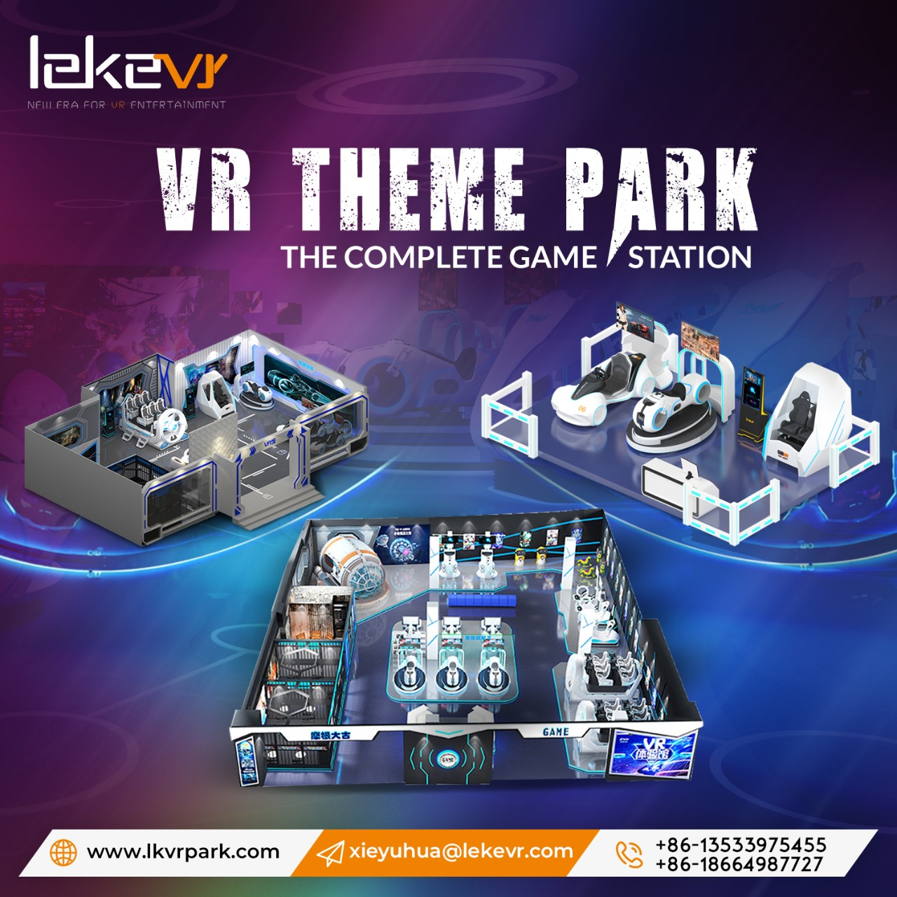 One-stop VR Park Solution