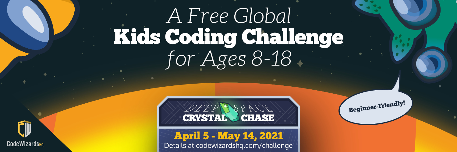 CodeWizardsHQ Launches its 2nd Annual Free Global Kids Coding Challenge