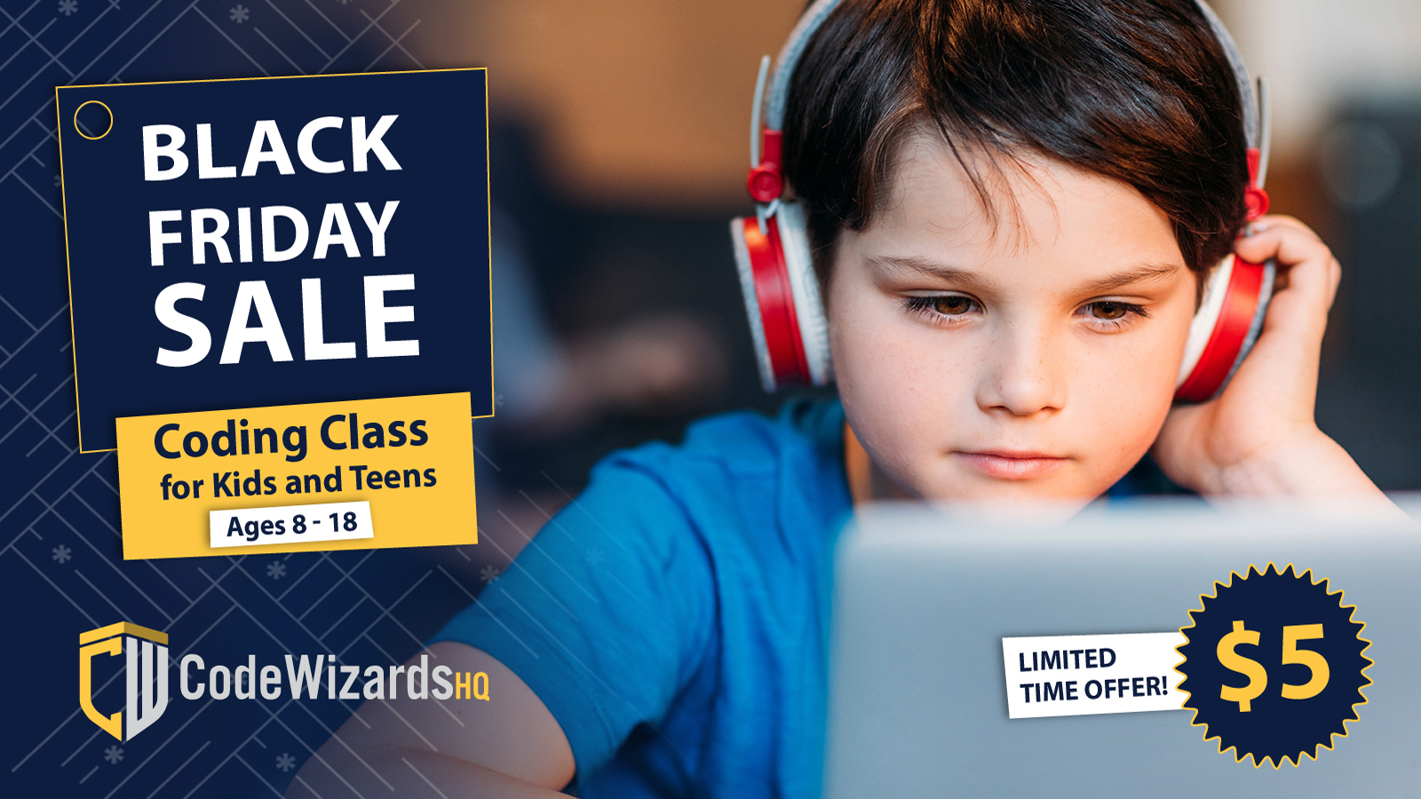 CodeWizardsHQ Gears Up for Its Biggest Black Friday Yet: $5 for 1-hour coding class