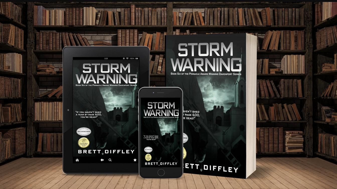 Award-winning Author Brett Diffley Releases Thriller - Storm Warning
