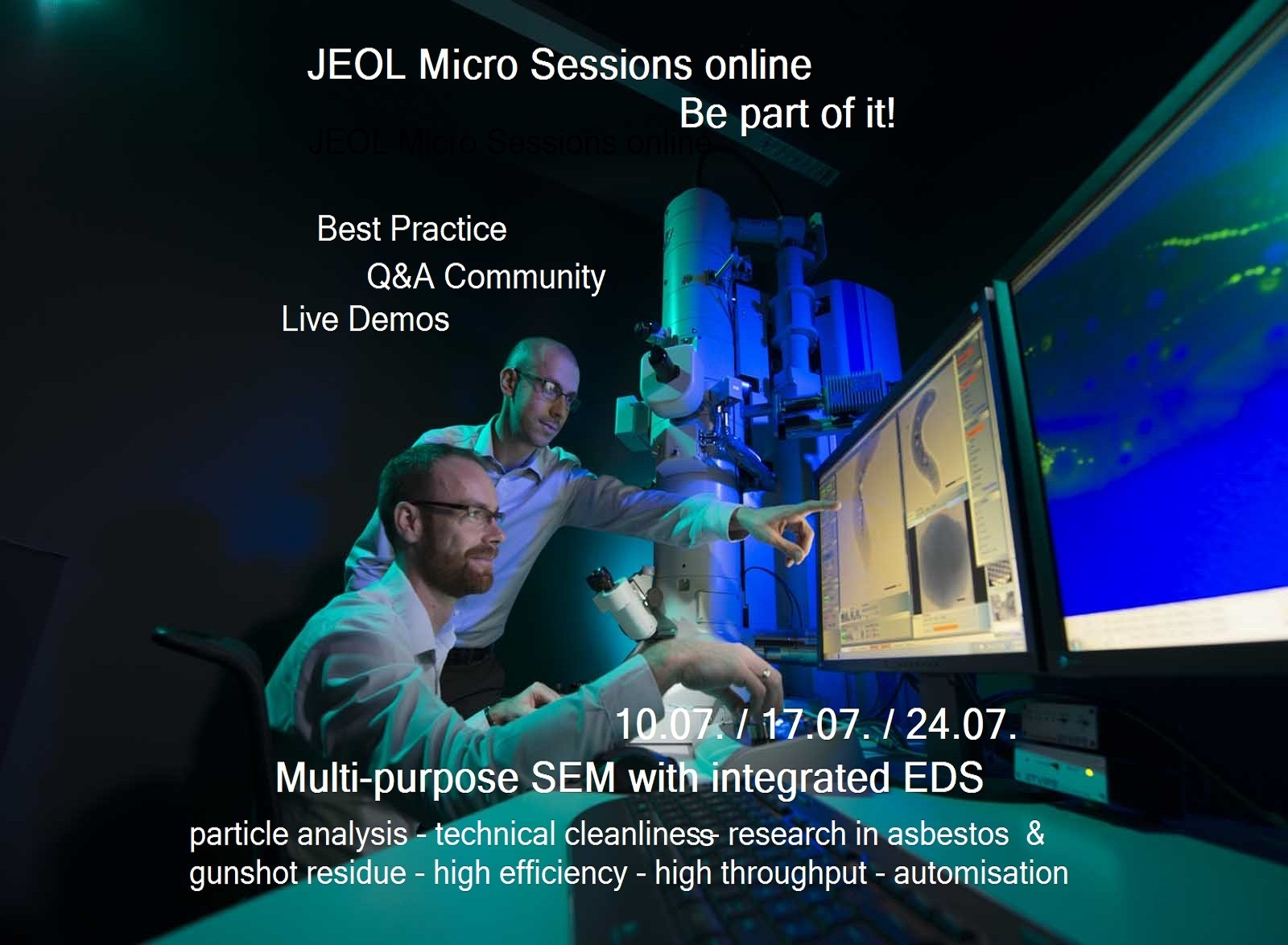Jeol starts Micro Sessions