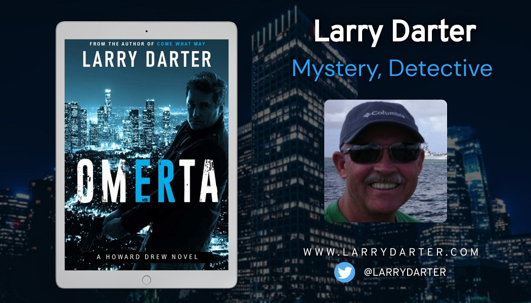 Author Larry Darter Releases New Detective Mystery - Omerta