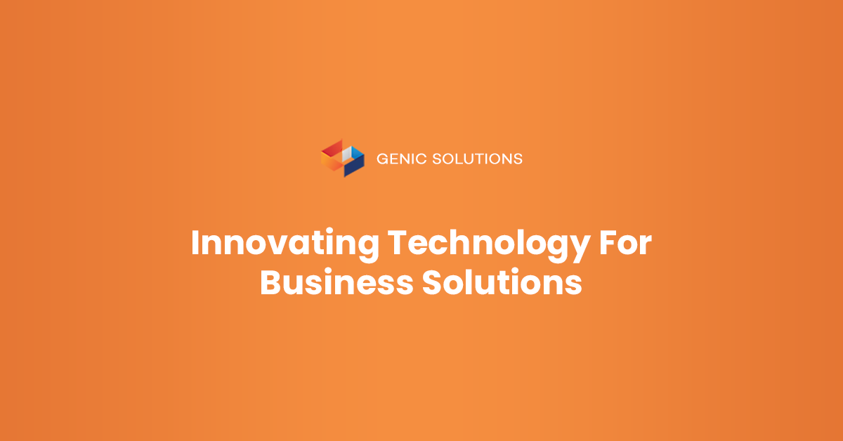 Genic Solutions Describes the Benefits of Inventory Management Software