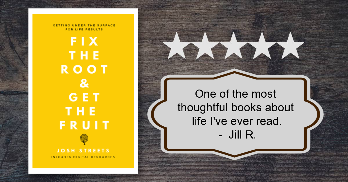 Josh Streets shares a holistic plan to facilitate personal transformation in book 'Fix the Root and Get the Fruit'