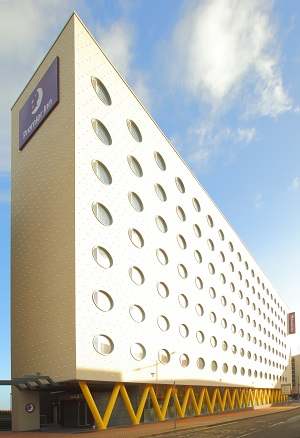 Encasement covers all the angles at Cardiff Bay's flagship Premier Inn