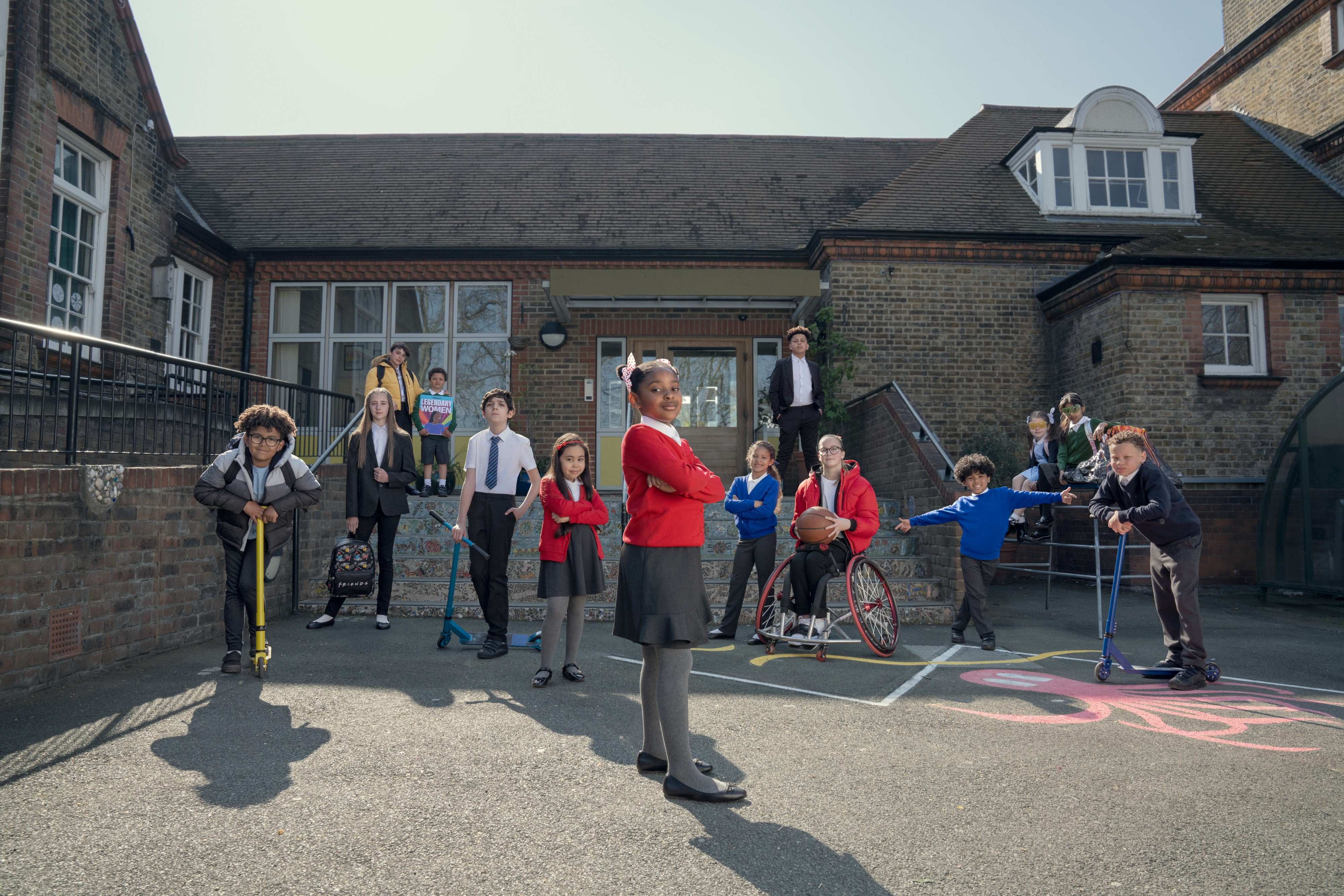 DJ Nick Grimshaw leads the love for rapping kids in George's Back to School advert