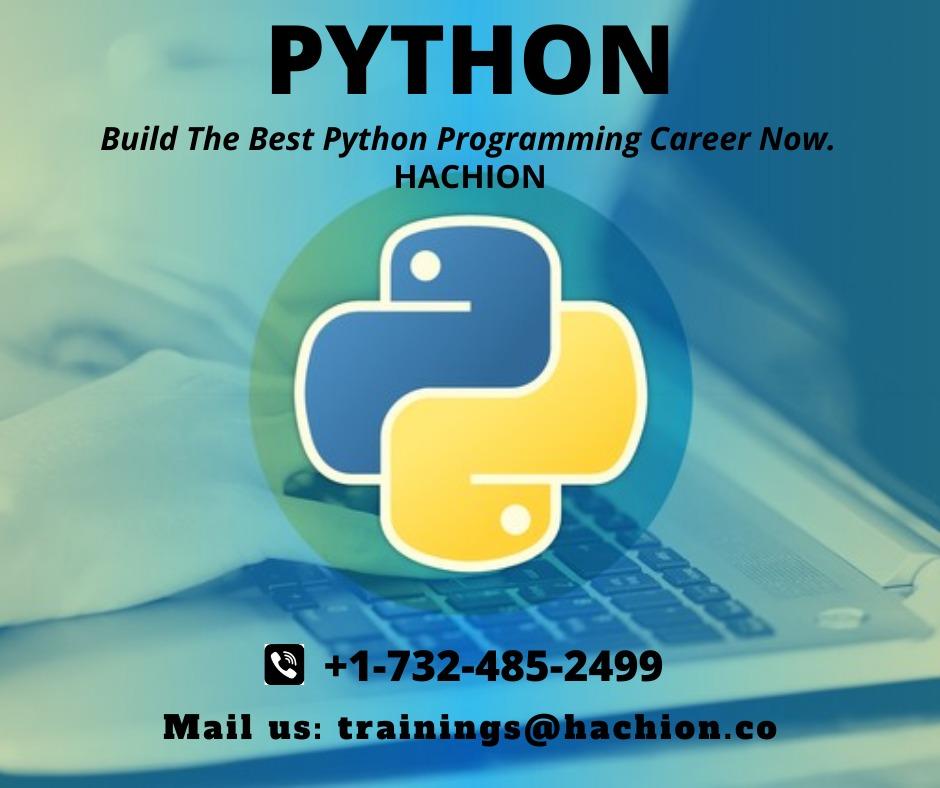 Python Online training, Python online courses-Hachion