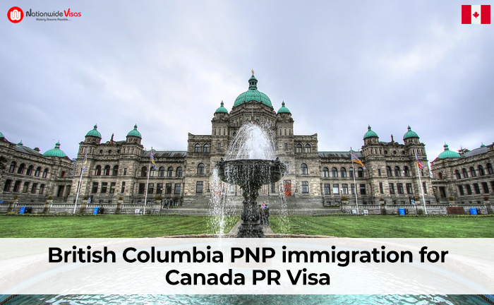 British Columbia PNP immigration for Canada PR Visa