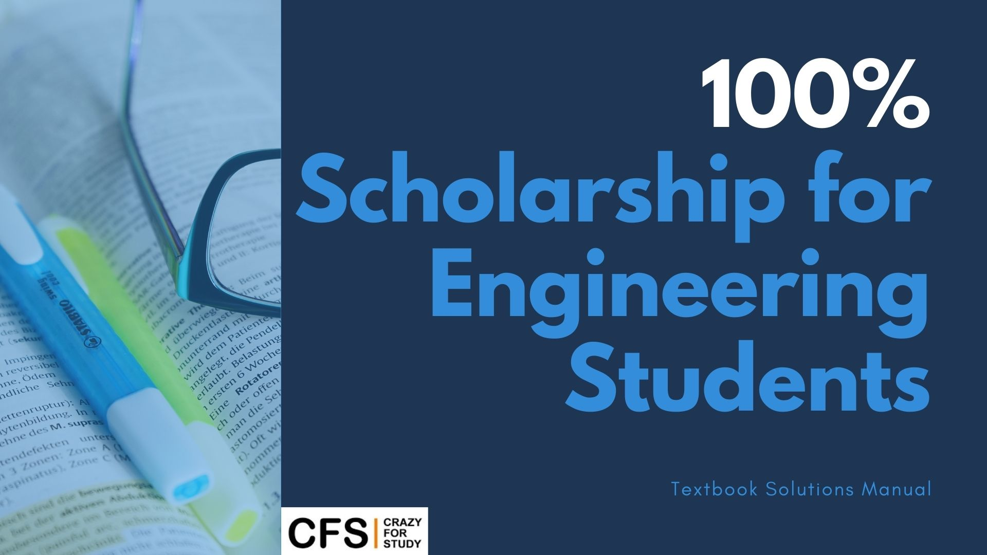 100% scholarship for engineering Students by CFS