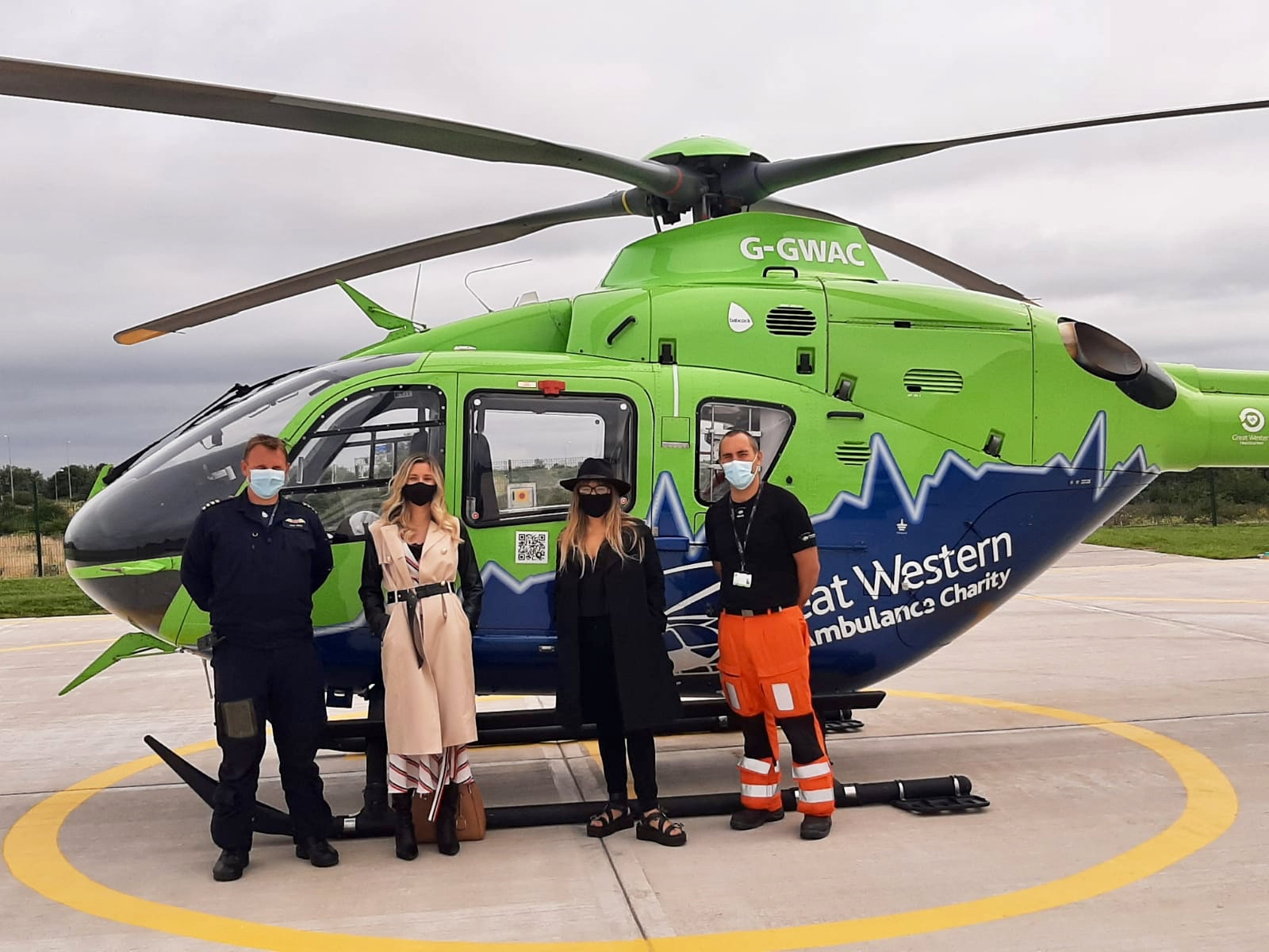 Great Western Air Ambulance Charity receives funding as a result of Brevio Grant Matching