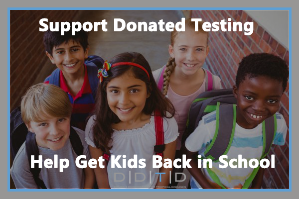 Crowdfunding Campaign to Support Donating COVID-19 Antibody Tests to Schools