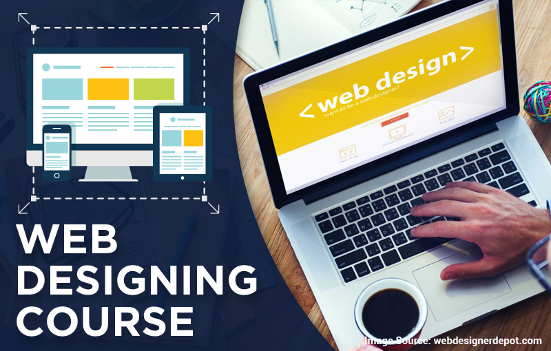 Popularity of Web design explained in a web designing course