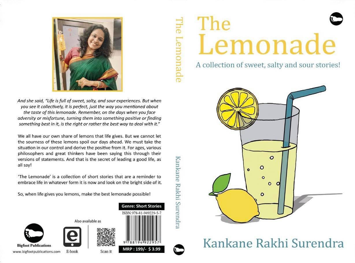 The Lemonade, A Short Story Collection by Kankane Rakhi Surendra released