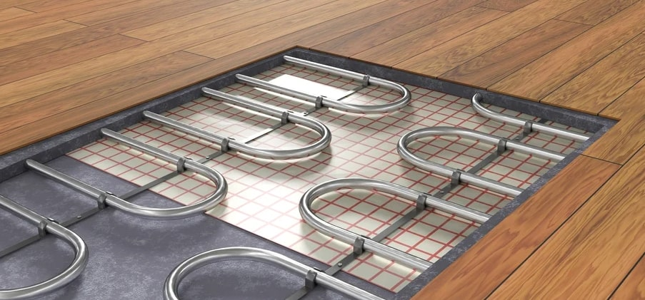 How Underfloor Heating Promotes Comfort, Saves Energy and Improves Air Quality