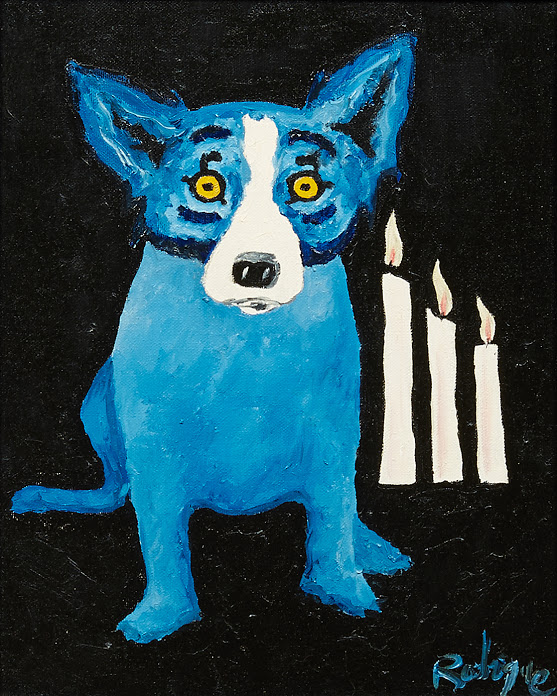 Oil Paintings by George Rodrigue and Clementine Hunter will be Part of Crescent City's Estates Auction, Sept. 11-12-13