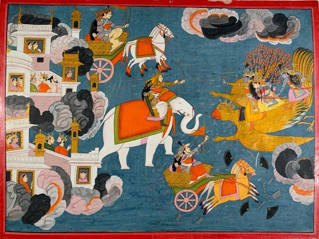 Paintings by Indian Artists Purkhu and Badri Narayan will Headline Neue Auctions' Feb. 20th Auction