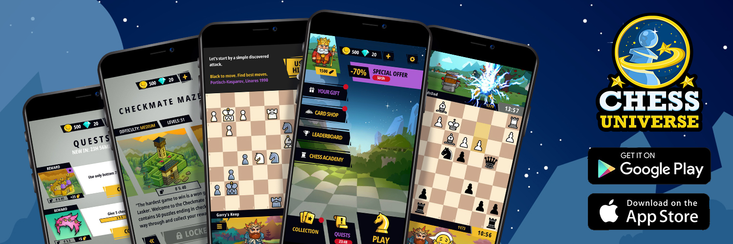 Chess Universe App – The New Chess Experience, Now Available for iOS and Android