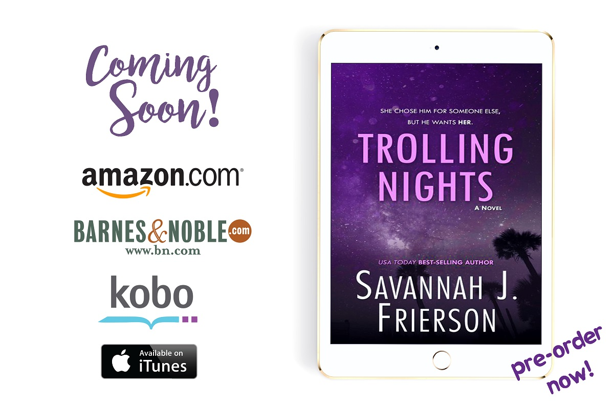 Best-selling Author Savannah J. Frierson Releases New Romance Novel - Trolling Nights
