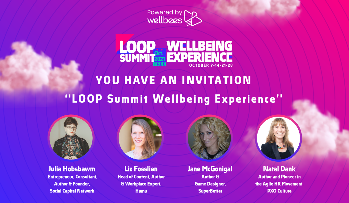 Wellbeing conference LOOP Summit reveals packed programme led by authors, experts and pioneers