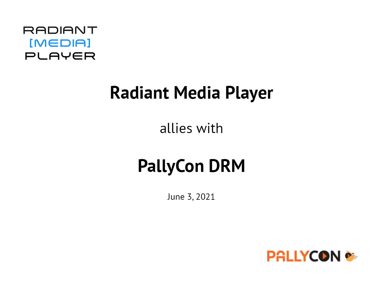 Radiant Media Player allies with PallyCon Multi-DRM