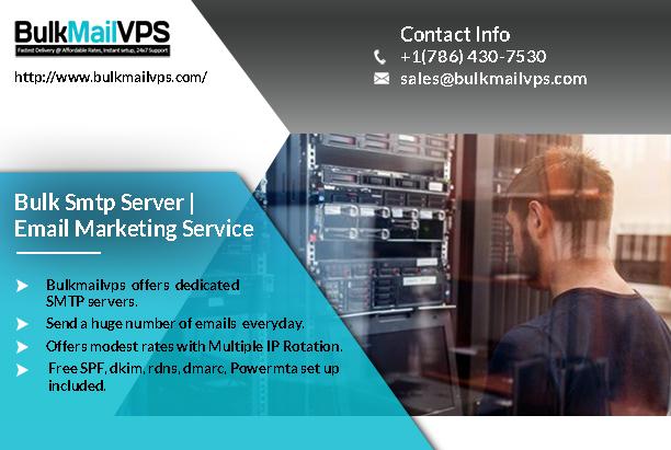 Email Marketing Service, Bulk Smtp Server