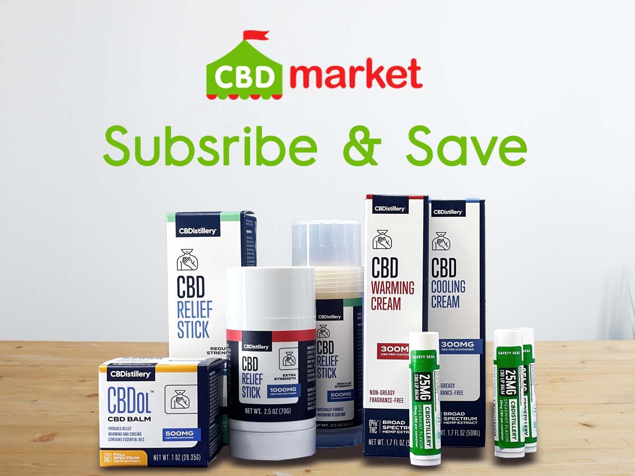 CBD.market CBD Online Store Announces CBD Subscription Service That Saves Customers Money