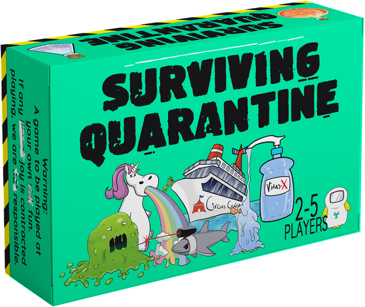 A guy created a game called Surviving Quarantine and it's everything funny about our last few months