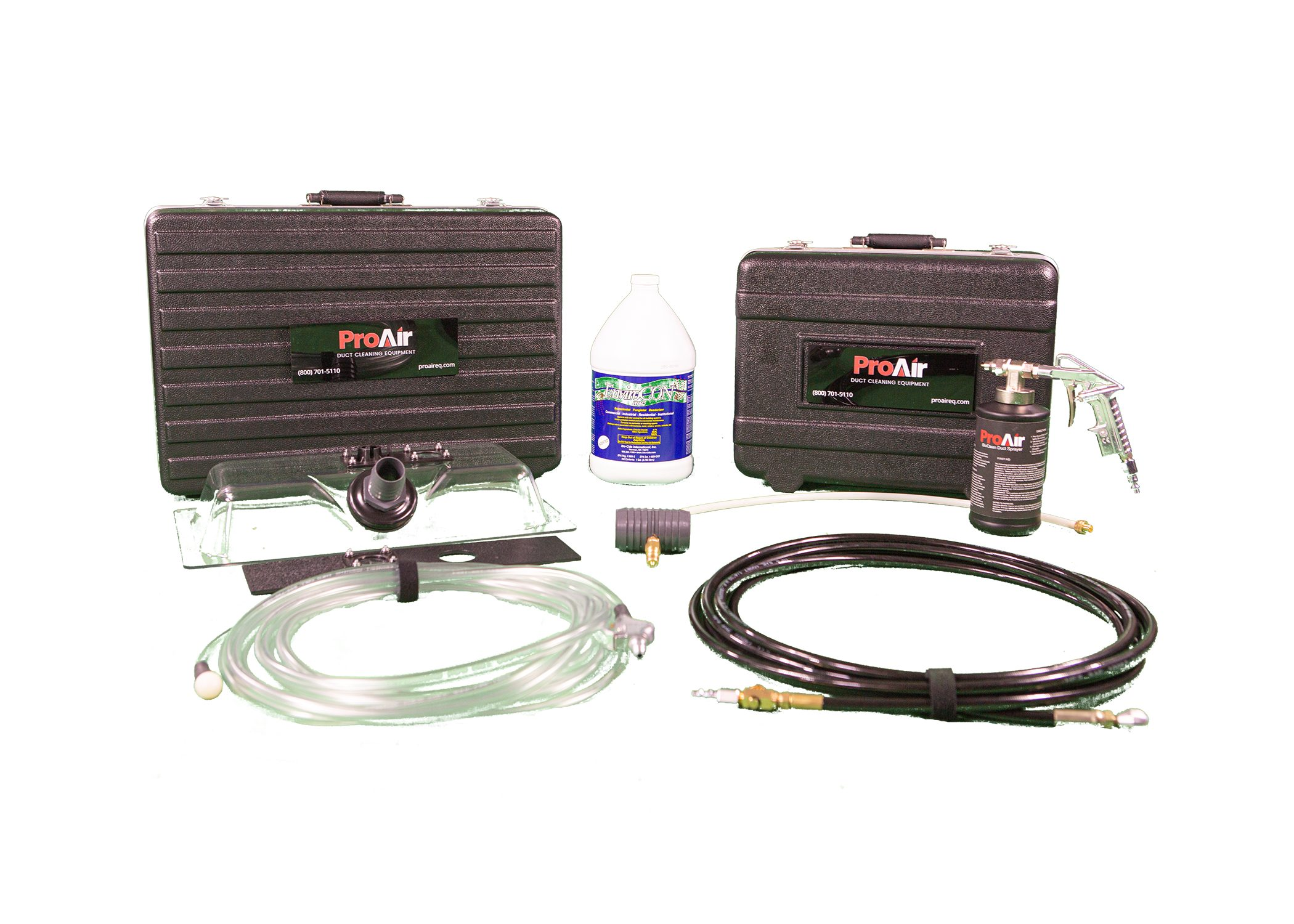 NEW PORTABLE AIR DUCT CLEANING SYSTEM THAT COMES WITH A DUAL MOTOR