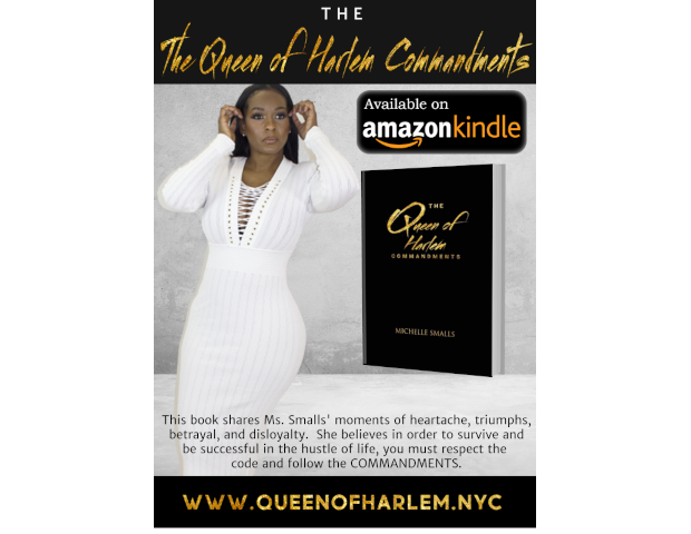 The Queen of Harlem Commandments Book By Michelle Smalls Now Available Online at Queenofharlem.nyc