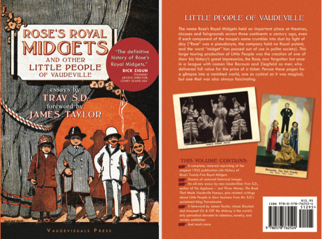 Rose's Royal Midgets and Other Little People of Vaudeville - New Book From Vaudevisuals Press