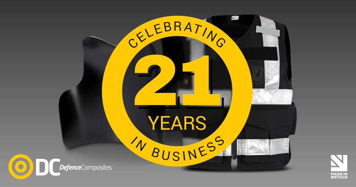 Defence Composites Celebrates its 21st Birthday