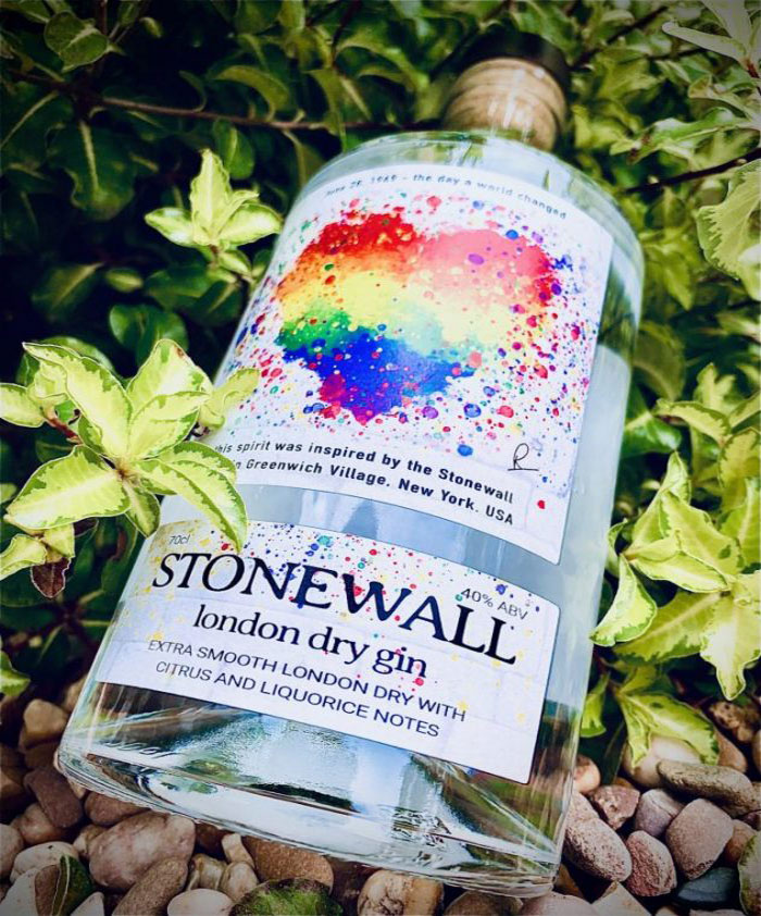 Filling up with Pride as Stonewall Gin launches