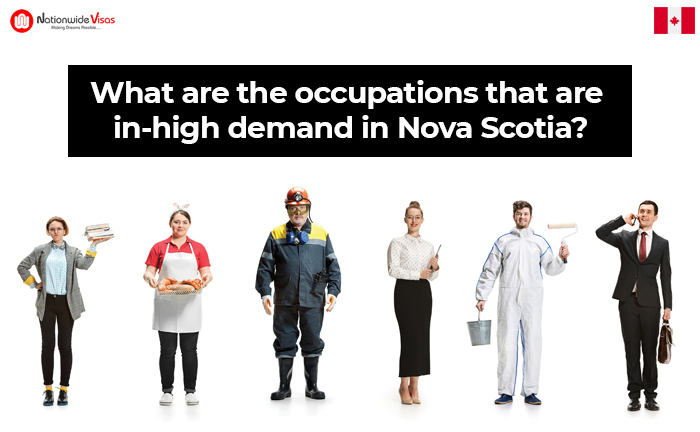 What are the occupations that are in-high demand in Nova Scotia?