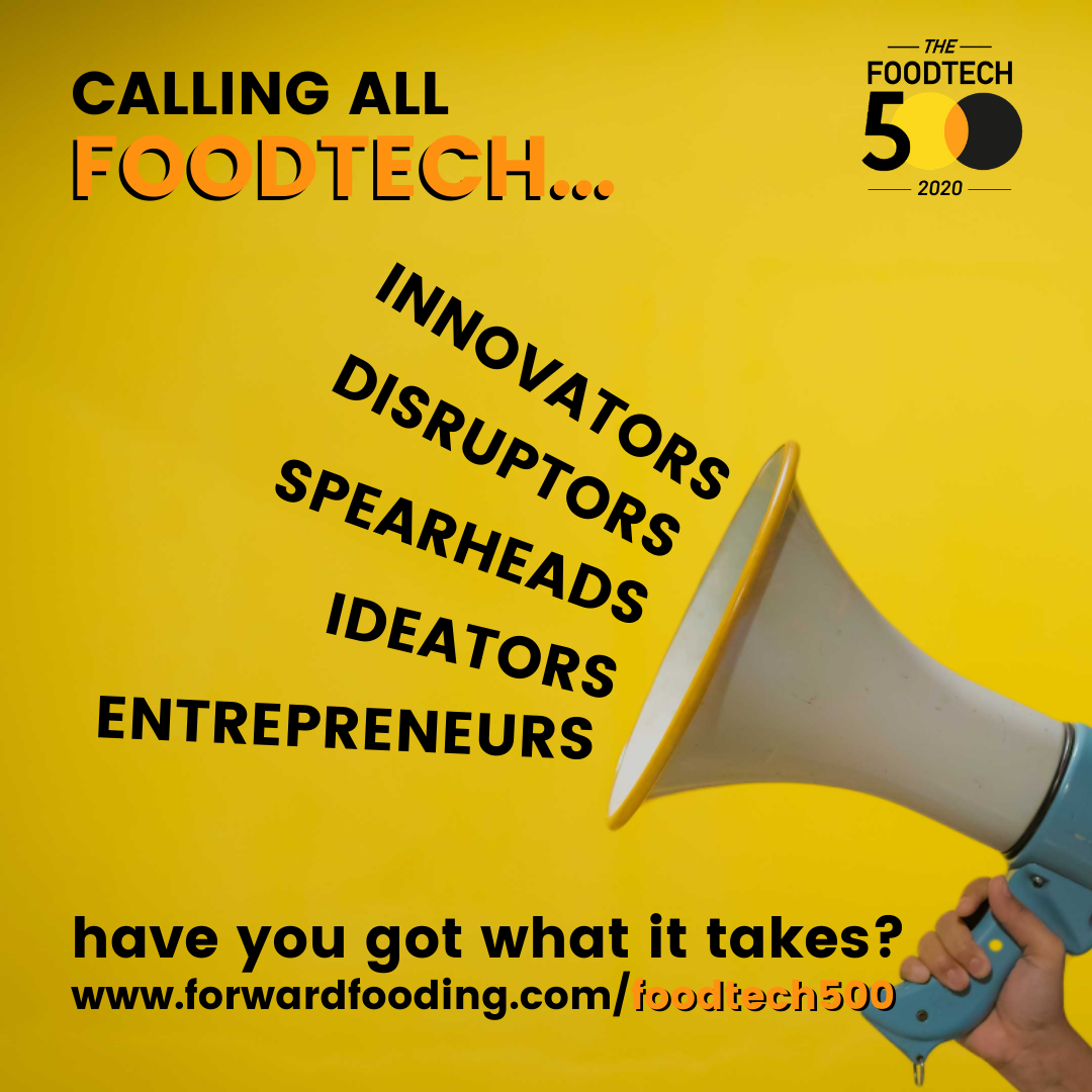 2020's FoodTech 500: Forward Fooding officially launches a new call for applications