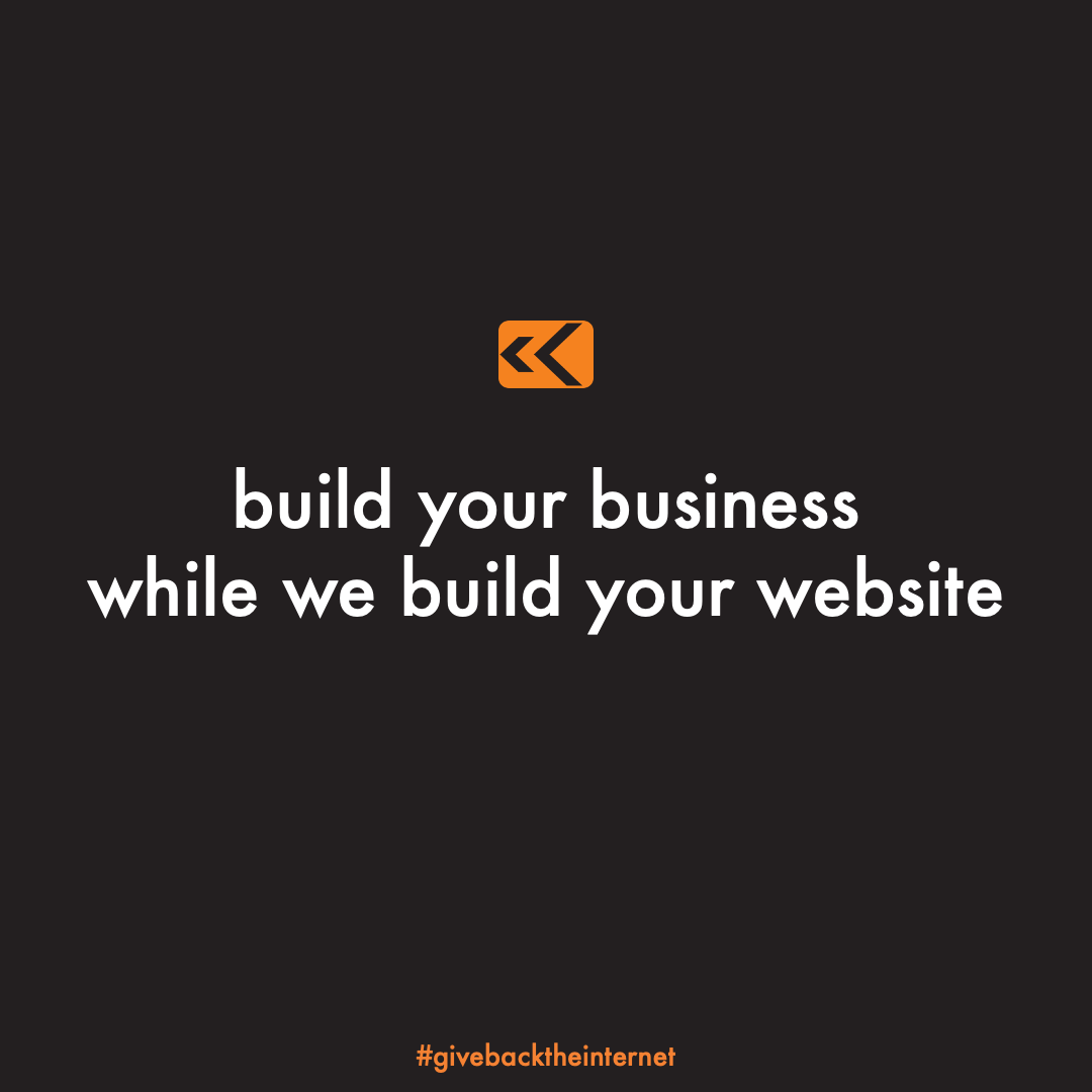 Starting a new venture can be intimidating. givebacktheinternet offers free web design  development services to help entrepreneurs get discovered online.